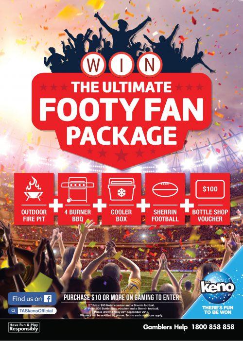 Ultimate Footy Fan Package